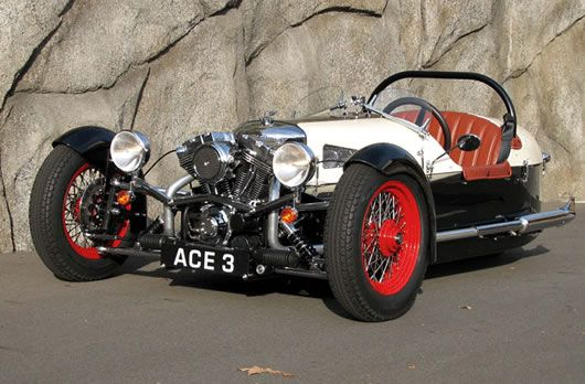 The ACE Cycle Car - USA. Harley Davidson V- twin engine