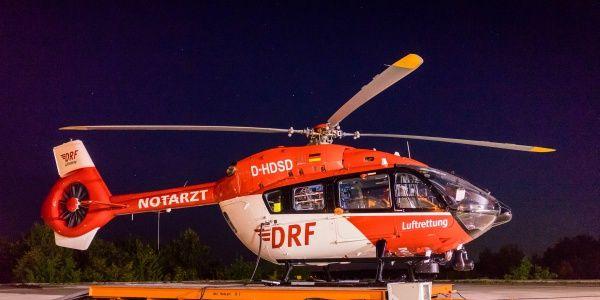 Tag und Nacht ist Christoph Nürnberg der DRF Luftrettung einsatzbereit. (Symbolfoto)