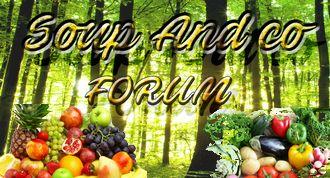 Forum dédié au partage d'experience et surtout de recette avec l'appareil de Moulinex: Soup&co.