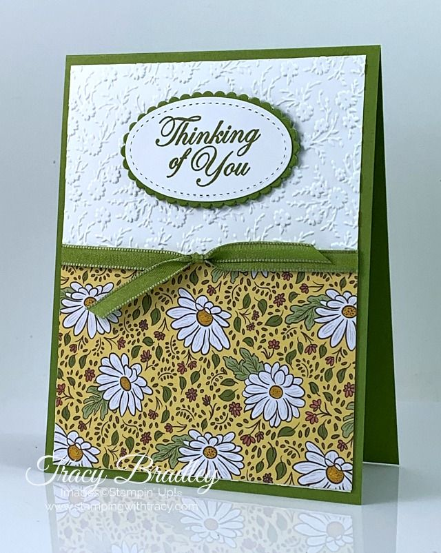 Stampin Up Ornate Floral Embossing Folder Stamping With Tracy Embossed Cards Handmade Handmade Cards Stampin Up Embossed Cards