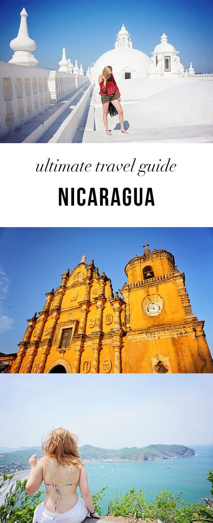 The Ultimate Travel Guide to Nicaragua. All the best things to do in Nicaragua which cities to visit.