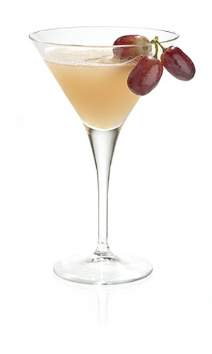 Tea Time - Madeira or Scotch whisky, Black grapes, Jasmine syrup, Lemon juice, Orange liqueur