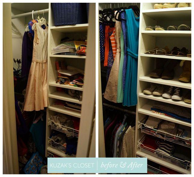 The 25 best teen closet organization ideas on pinterest - Teenage bedroom organization ideas ...