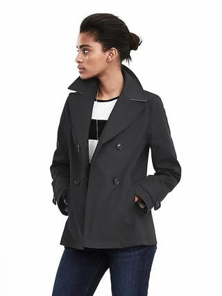 Double-Breasted Mac Jacket