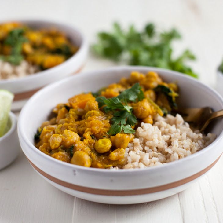 Golden Butternut Squash and Chickpea Curry | Receipe to Make ...