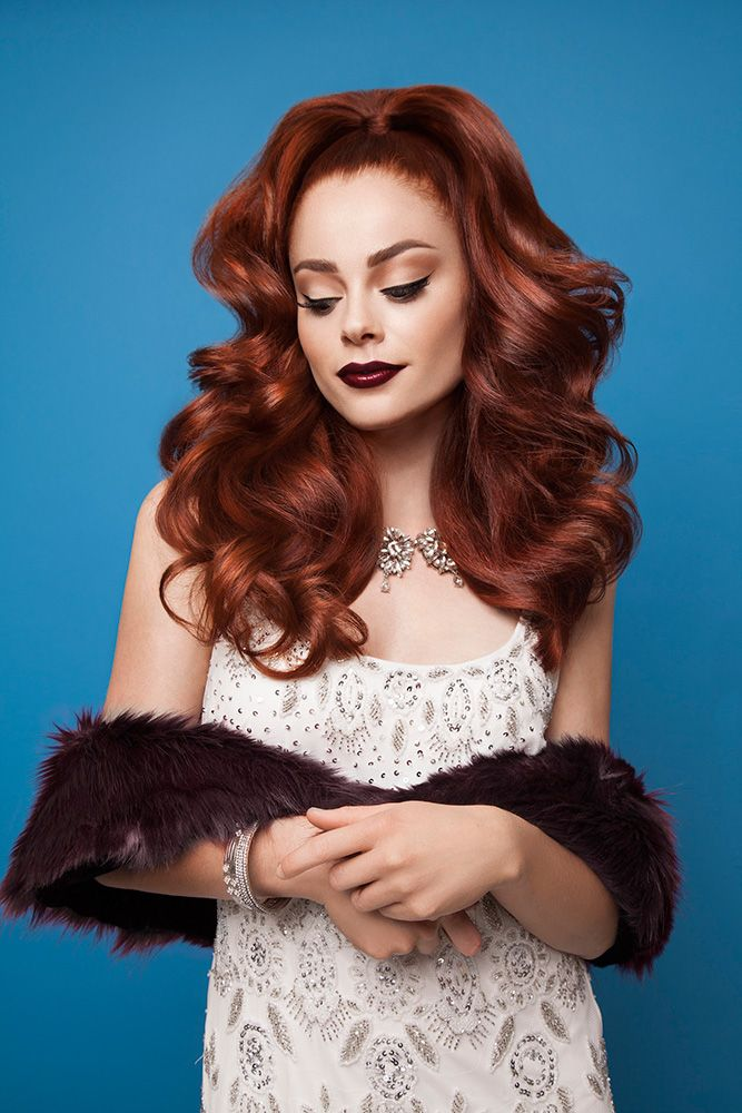 To achieve this gorgeous red, use copper Color Boost with ColorLush color. See the technique and formulas below.