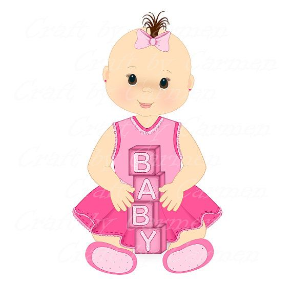 17 Best images about BABIES CLIP ART on Pinterest | Baby girls ...