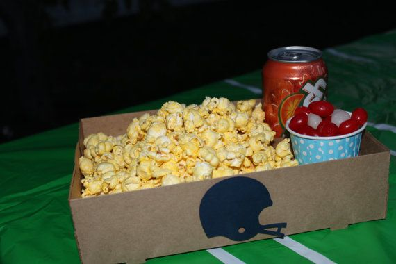 10 Kraft Concessions drink popcorn candy carrier holder by TheShindiggityShoppe movie night,
