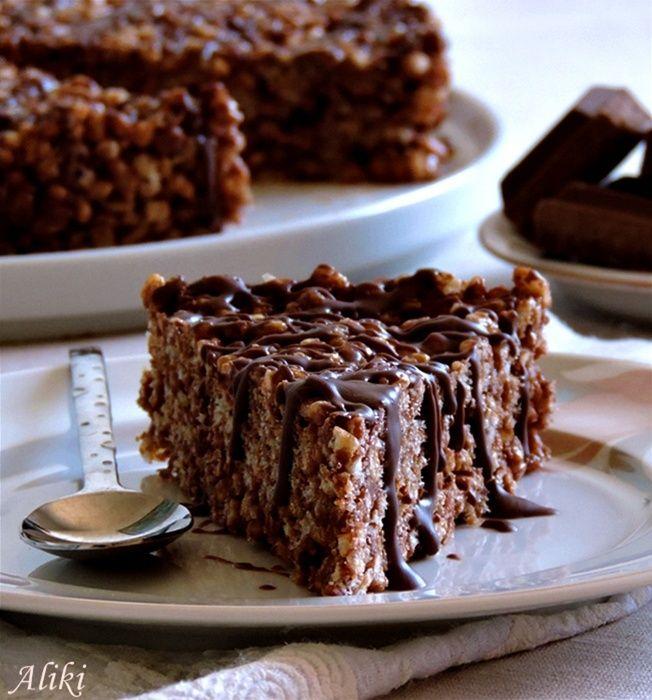 Karamel crispy torta