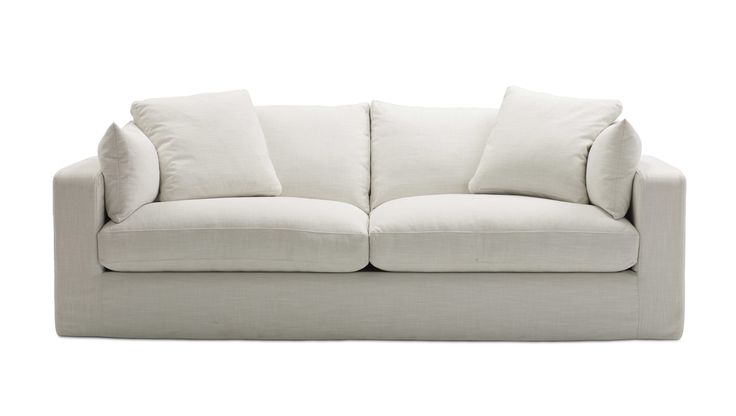 Molmic Steele Ave Loose Cover Sofa // it all starts with a blank canvas