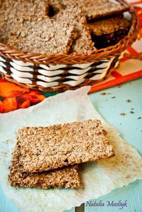 Как приготовить хрустящий овсяный крекер - пошаговый рецепт | Диетические низкокалорийные рецепты - блюда правильного питания на Dietplan.ru