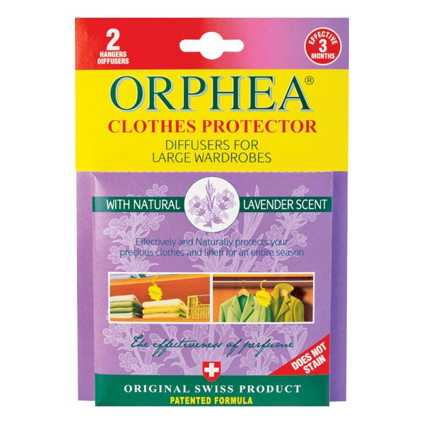 Orphea Clothes Protector diffusers are the natural and safer way to protect your clothes in wardrobes. Try this lavender variety today!