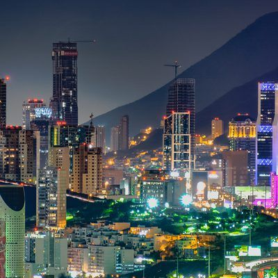 The northwestern city of Monterrey is the third largest in Mexico. The city is a study in contrasts, from its highly industrialized factory districts to its scenic natural setting near saddle-shaped ...