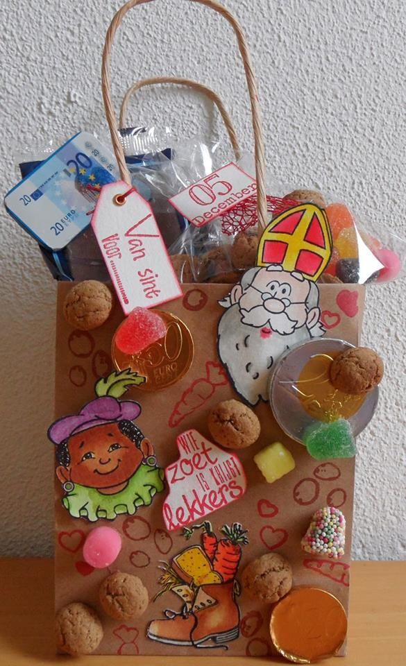 6410/0083 Clear Stamps Sinterklaas Door  Antoinette Voorn