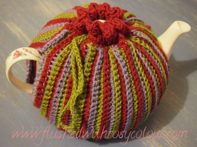 """""""Olives & Wine"""" Two Way Tea Cosy"""