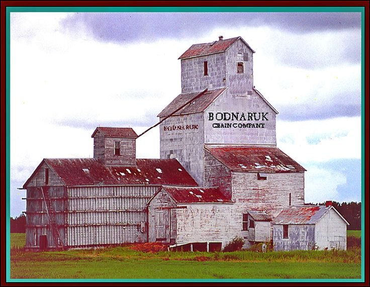 Grain elevators on the prairie are few and far between these days.