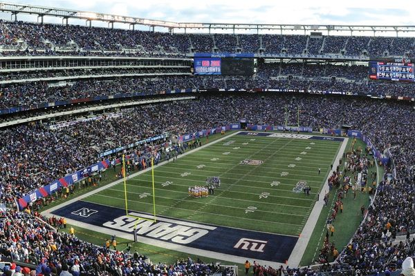 MetLife Stadium, East Rutherford, NJ... Always and forever home of the New York Football Giants!