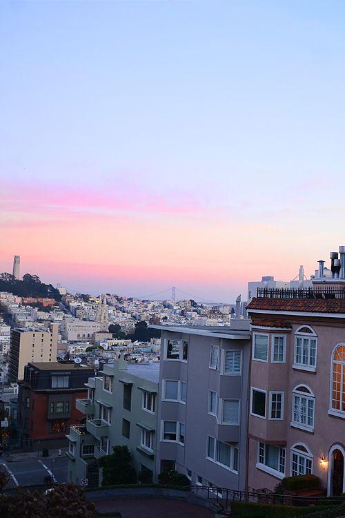 San Francisco, I'm returning to you this week. Hope ya didn't miss me too much.
