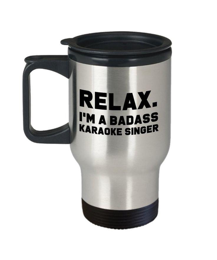 Funny badass karaoke singer gift for karaoke singer gift