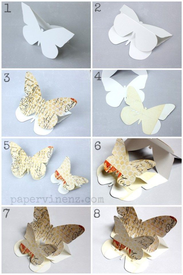 Diy Butterfly Pop Up Card With A Template Pop Up Card Templates Bug Crafts Butterfly Crafts