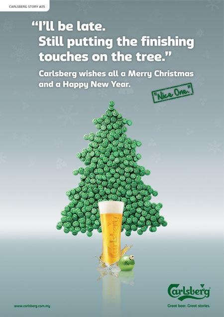 a Carlsberg christmas