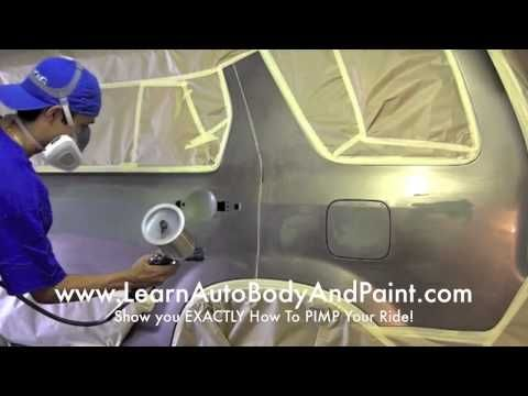 42 best auto painting images on pinterest cars tutorials and car 9 easy steps to blend paint jobs from home how to paint your car solutioingenieria Choice Image