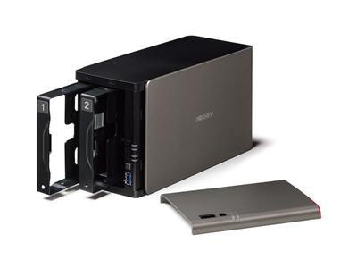 Buffalo LinkStation 421DE 2-Bay Network Attached Storage Diskless (LS421DE-EU) - dabs.com