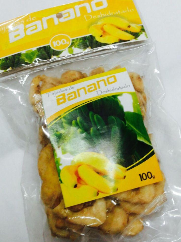 Banano desidratado