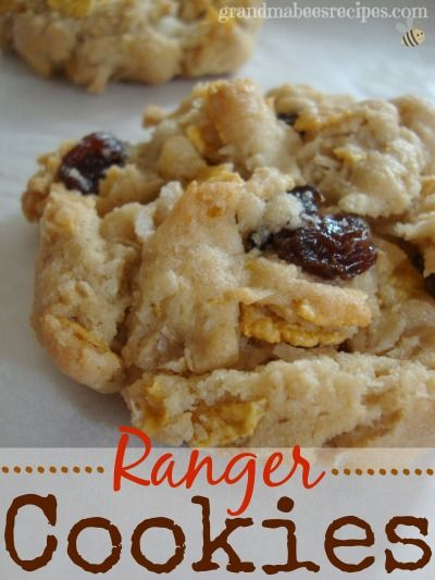 Ranger Cookies - I love that these are crispy AND chewy at the same time!