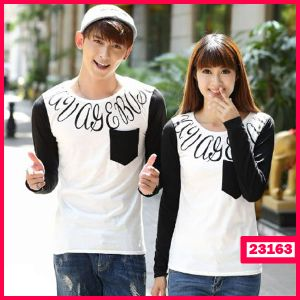 Baju Couple LP Pocket Age - Butik Pakaian