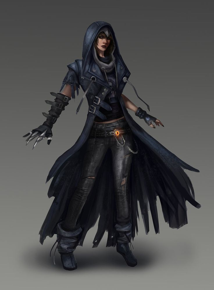 Raven, Teen Titans redesign by Skyzocat female thief assassin rogue | NOT OUR ART - Please click artwork for source | WRITING INSPIRATION for Dungeons and Dragons DND Pathfinder PFRPG Warhammer 40k Star Wars Shadowrun Call of Cthulhu and other d20 roleplaying fantasy science fiction scifi horror location equipment monster character game design | Create your own RPG Books w/ www.rpgbard.com