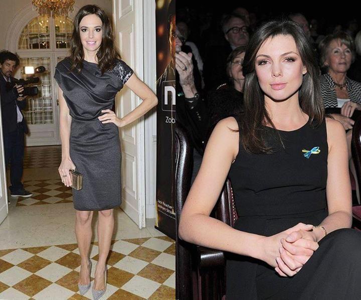 Ania Wendzikowska i Karolina Gorczyca are wearing YES jewelry