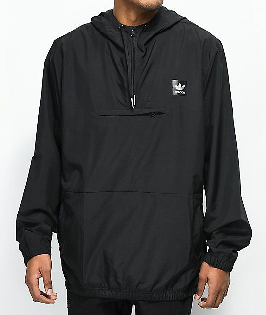 adidas Hip Black Packable Jacket