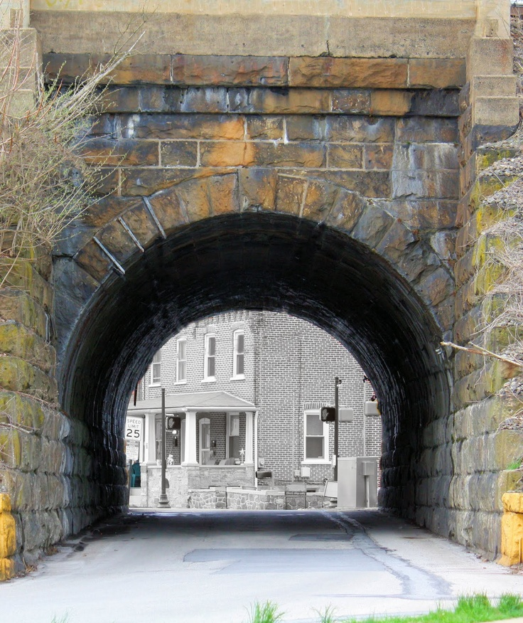 Johnsontown Tunnel, Downingtown, Pa