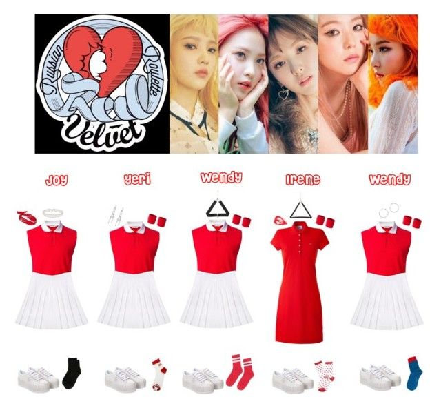 Red Velvet Russian Roulette ️💛💚💙💜 My Polyvore Finds