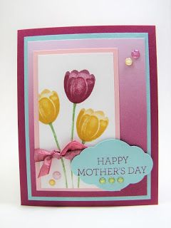 Maddiebug Designs - Tranquil Tulips - Stampin' Up!, 2017-2018 Idea book and catalog, Tranquil tulips, crazy about you