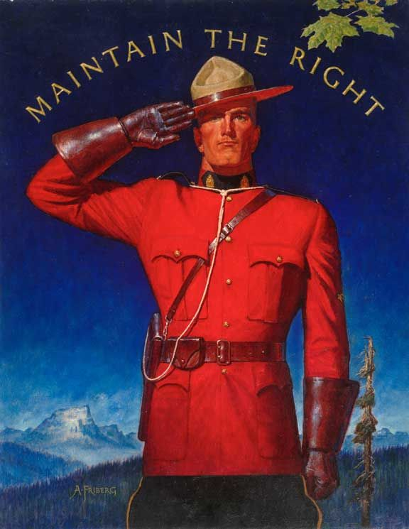 Maintain the Right — Arnold Friberg (1963)