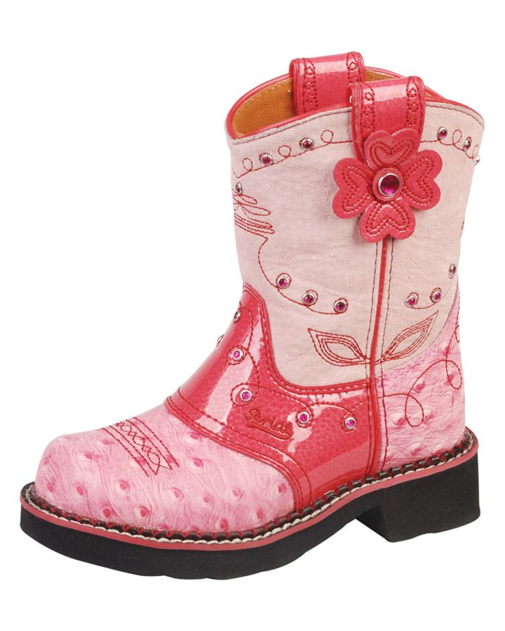 Ariat Kid's Fatbaby Flower Boot - Country Outfitter - so cute for a little girl! Precious :)