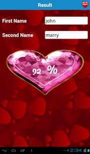 Real Love Test Calculator