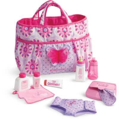 Mommy's Diaper Bag Essentials | Bitty Baby | American Girl