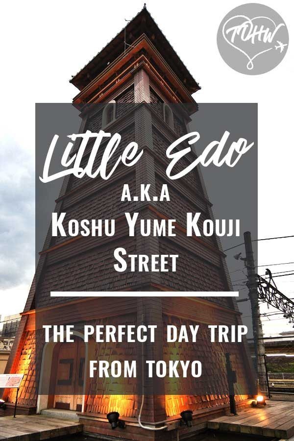 Little Edo in Yamanashi, the perfect day trip from Tokyo