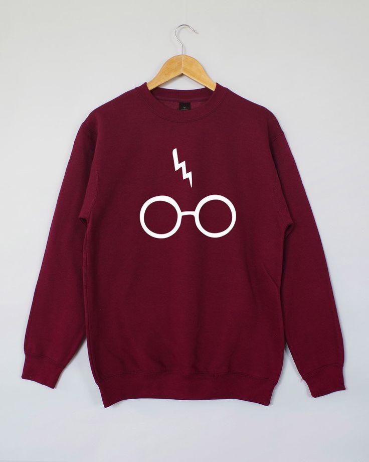 Harry Potter Sweatshirt. Harry Potter Jumper. Harry Potter Sweater. Harry Potter Shirt. by domugo on Etsy