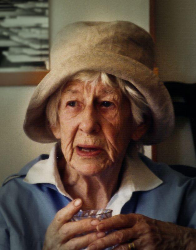 Ulla Molin, the queen of garden