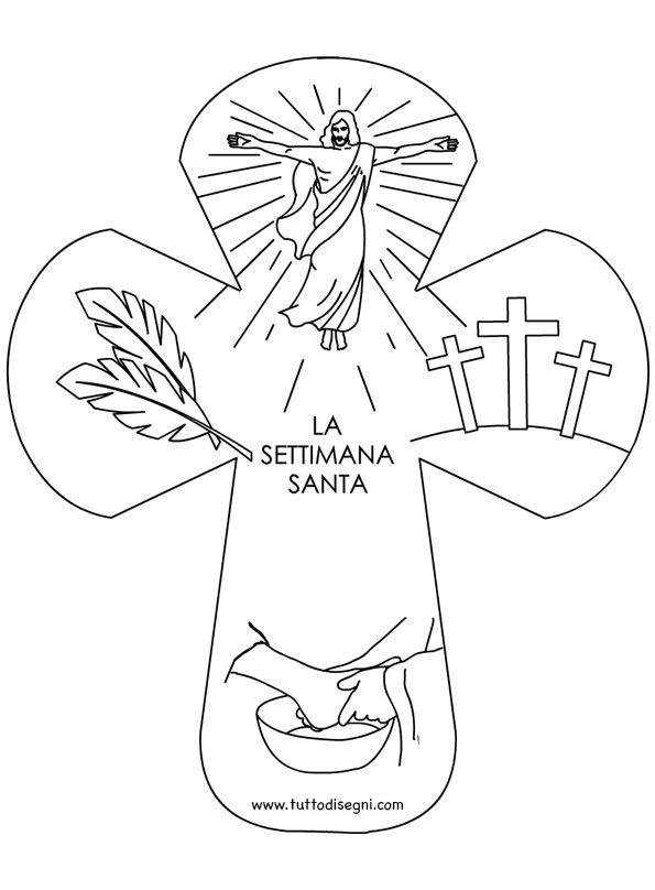 Domenica delle Palme, Giovedì Santo, Venerdì Santo, Sabato Santo e Domenica di Pasqua