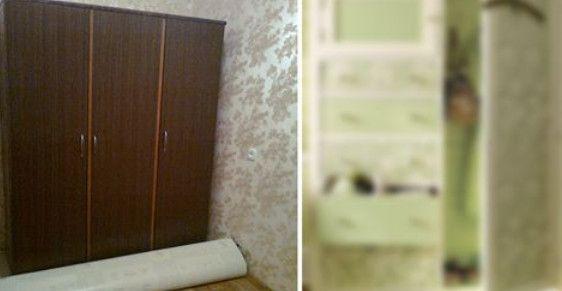 Подруга сделала красивый ремонт, но старый шкаф никак не вписывался…подруга-дизайнер подсказал ей решение! – В РИТМІ ЖИТТЯ