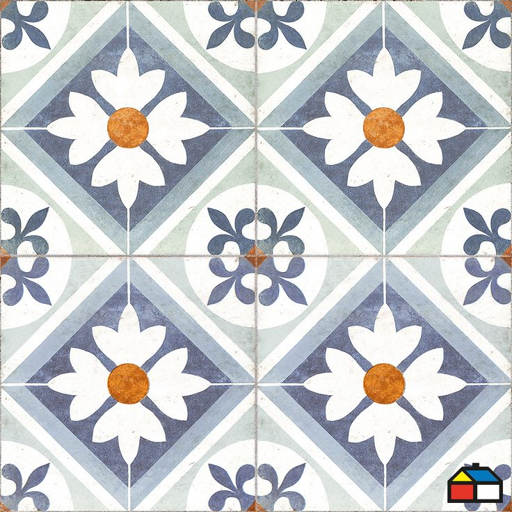 #Ceramica #Pisos #Flores #Vintage #Camionazo