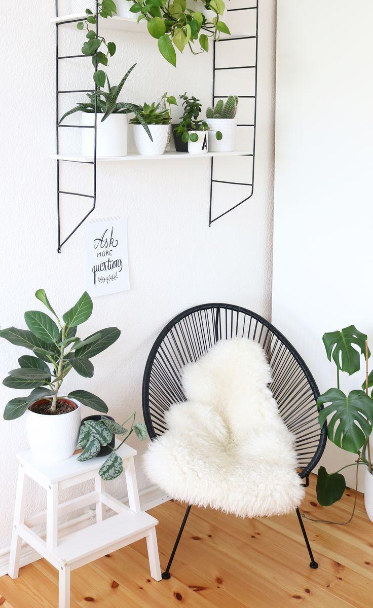 urban-jungle-ecke-im-schlafzimmer-2 – WG Zimmer ♡ Wohnklamotte