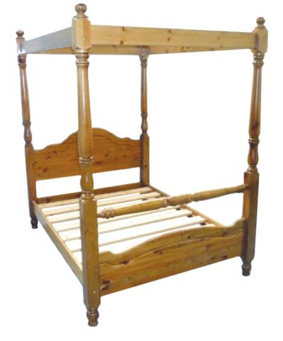 The Yukon 4 Poster is a striking bed which is robust and would last for many years to come.Reinforcement Features: Constructed from the Strongest Scandinavian Solid Pine, Chunky Heavy Duty Solid Pine Side Rails, Reinforcement Centre Bar with Support Legs, Heavy Duty Fixings& Extra Thick and Wide Solid Slats. Antique Wax, Antique, Chocolate Brown, Mahogany, Oak, Painted White or Painted Cream. An ideal robust solution for hotels and guest accommodation.
