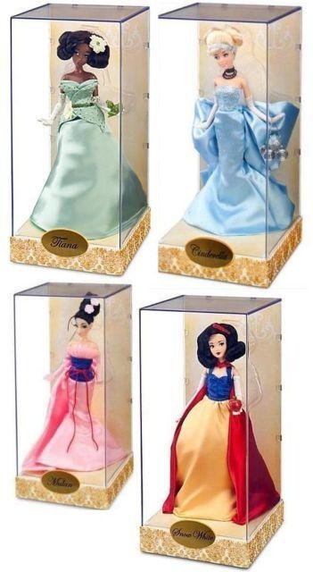 Disney Princess Designer 4 Remaning Dolls Collection Brand New Limited Edition | eBay