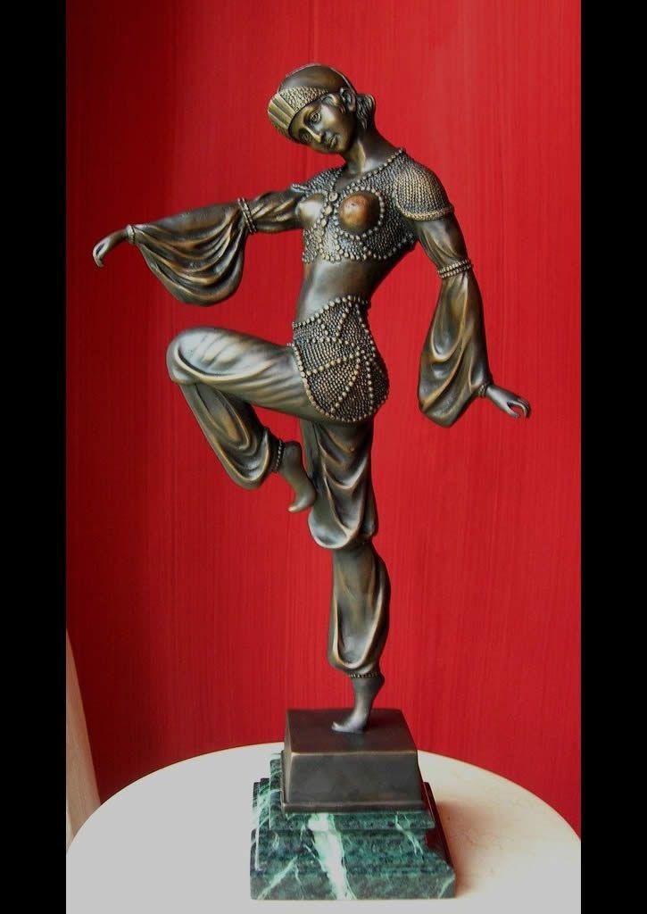 The Oriental Dancer Bronze Statue